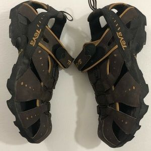 Teva Men's Fisherman Sport Hiking Sandals Size 8